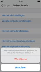Apple iphone-se-met-ios-13-model-a1723 - Instellingen aanpassen - Fabrieksinstellingen terugzetten - Stap 6