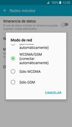 Samsung Galaxy S6 - Red - Seleccionar el tipo de red - Paso 6