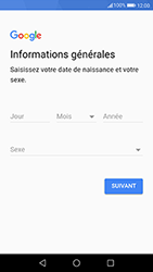 Huawei P10 - Android Oreo - Applications - Créer un compte - Étape 6