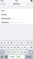 Apple iPhone 6 iOS 8 - E-mail - Configuration manuelle - Étape 8