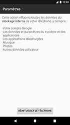 Google Pixel - Appareil - Réinitialisation de la configuration d