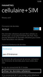 Nokia Lumia 930 - Aller plus loin - Désactiver les données à l'étranger - Étape 6