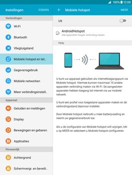 Samsung Galaxy Tab A 9.7 (SM-T555) - WiFi - Mobiele hotspot instellen - Stap 10