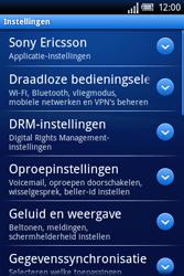 Sony Ericsson Xperia X8 - Buitenland - Bellen, sms en internet - Stap 4