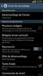 Samsung Galaxy S4 - Sécuriser votre mobile - Activer le code de verrouillage - Étape 6