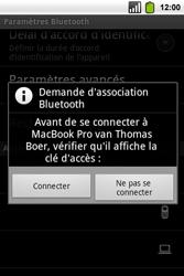 Alcatel OT-991 Smart - Bluetooth - Jumeler avec un appareil - Étape 8