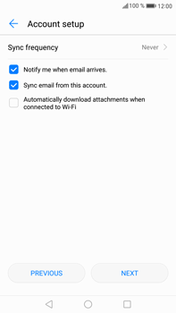 Huawei Mate 9 - Email - Manual configuration - Step 18