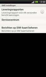 HTC T320e One V - SMS - Handmatig instellen - Stap 5
