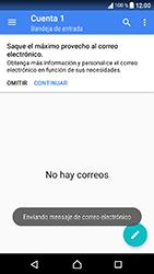 Sony Xperia XA1 - E-mail - Escribir y enviar un correo electrónico - Paso 17