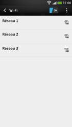 HTC Desire 601 - Wifi - configuration manuelle - Étape 5