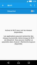 Sony E2303 Xperia M4 Aqua - Wifi - configuration manuelle - Étape 4