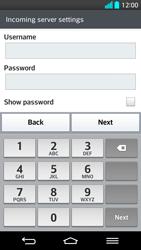 LG G2 - E-mail - Manual configuration - Step 11