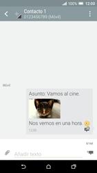 HTC One A9 - Mensajería - Escribir y enviar un mensaje multimedia - Paso 22