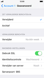 Apple iPhone SE - iOS 11 - E-mail - Account instellen (POP3 met SMTP-verificatie) - Stap 22