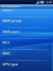 Sony Ericsson Xperia X10 Mini - Mms - Manual configuration - Step 10