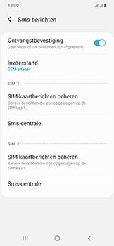 Samsung Galaxy A20e - Berichten - handmatig instellen - Stap 11