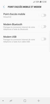 Samsung Galaxy S9 - Internet et connexion - Utiliser le mode modem par USB - Étape 8
