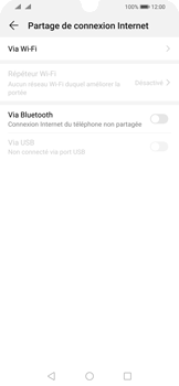 Huawei P Smart (2019) - Internet - comment configurer un point d'accès mobile - Étape 5