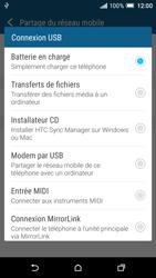 HTC One A9 - Internet et connexion - Utiliser le mode modem par USB - Étape 8