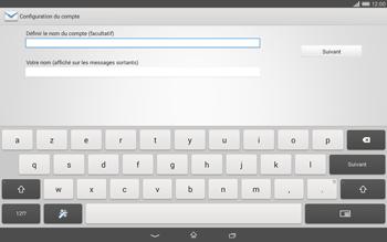 Sony Xperia Tablet Z2 (SGP521) - E-mail - Configurer l