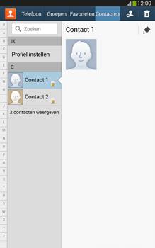 Samsung T315 Galaxy Tab 3 8-0 LTE - Contacten en data - Contacten kopiëren van SIM naar toestel - Stap 4