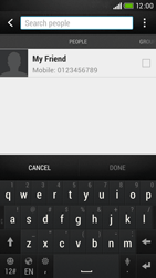 HTC Desire 601 - Mms - Sending a picture message - Step 6