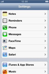 Apple iPhone 4 S - Applications - Create an account - Step 3