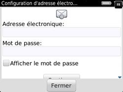 BlackBerry 9720 - E-mails - Ajouter ou modifier un compte e-mail - Étape 7
