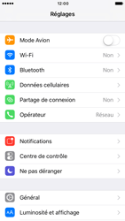 Apple iPhone 6s iOS 10 - Wifi - configuration manuelle - Étape 2
