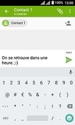 Alcatel U3 - Contact, Appels, SMS/MMS - Envoyer un SMS - Étape 10