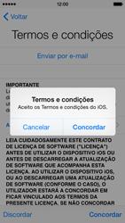 Apple iPhone 5s iOS 8 - Primeiros passos - Como ligar o telemóvel pela primeira vez -  17