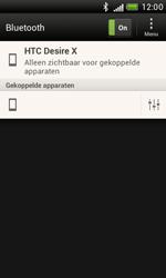 HTC T328e Desire X - Bluetooth - koppelen met ander apparaat - Stap 11