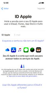 Apple iPhone X - iOS 12 - Primeiros passos - Como ativar seu aparelho - Etapa 15