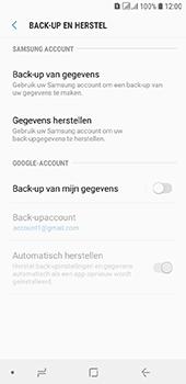 Samsung Galaxy A6 - Data - maak een back-up met je account - Stap 6
