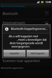 Sony ST27i Xperia Go - Bluetooth - koppelen met ander apparaat - Stap 10