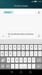 Huawei P8 Lite - Contact, Appels, SMS/MMS - Envoyer un SMS - Étape 9