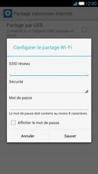 Bouygues Telecom Ultym 4 - Internet et connexion - Partager votre connexion en Wi-Fi - Étape 7