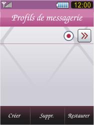 Samsung S7070 Diva - E-mail - Configuration manuelle - Étape 17