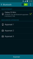 Samsung Galaxy S5 mini 4G (SM-G800F) - Bluetooth - Aanzetten - Stap 6