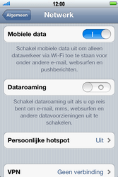 Apple iPhone 4 S - Internet - Dataroaming uitschakelen - Stap 5
