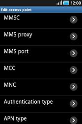 Samsung S5830 Galaxy Ace - Mms - Manual configuration - Step 9