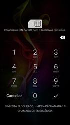 Alcatel Idol 4 VR - Primeiros passos - Como ligar o telemóvel pela primeira vez -  3