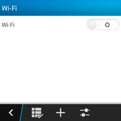 BlackBerry Q5 - WiFi - Conectarse a una red WiFi - Paso 6