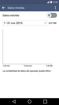 LG G4 - Internet - Activar o desactivar la conexión de datos - Paso 7
