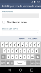 LG K4 - E-mail - Account instellen (IMAP met SMTP-verificatie) - Stap 12