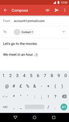 Motorola Moto G 3rd Gen. (2015) - Email - Sending an email message - Step 12