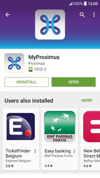HTC Desire 825 - Applications - MyProximus - Step 10