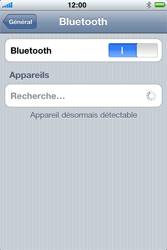 Apple iPhone 3G S - Bluetooth - connexion Bluetooth - Étape 7