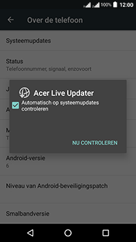 Acer Liquid Zest 4G Plus DualSim - Toestel - Software update - Stap 7