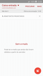 Samsung Galaxy S6 Edge - Email - Adicionar conta de email -  10